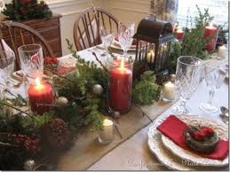 table decoration for christmas rustic christmas table decorations home design and