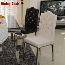 aliexpress com buy new 100 stainless steel leather dining