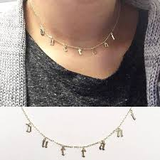 choker metal necklace images Choker necklace personalized choker necklace custom name jpg