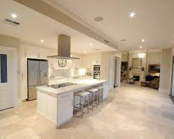 White Kitchen Tile Floor Travertine Tile Kitchen Floor Rapflava