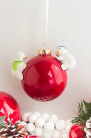 diy snowman ornament savvy apron
