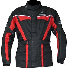 red motorcycle jacket oxford spartan motorcycle jacket waterproof biker motorbike ce