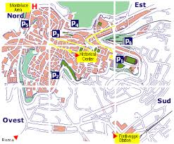map of perugia parking by perugia