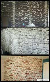 brick walls best 25 faux brick wall panels ideas on pinterest faux brick