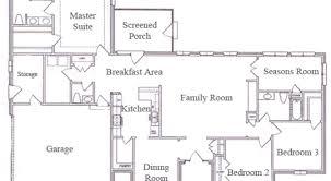 36 single story floor plans house plan 2721 web floor plans
