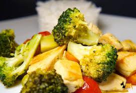 cuisiner brocolis a la poele poêlée de brocolis poulet cook expert magimix