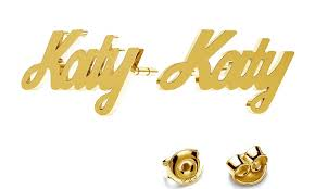 name earrings jewellshouse up to 96 groupon