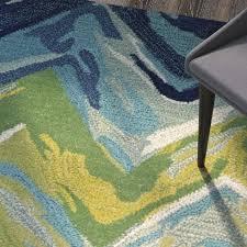 Green Chevron Area Rug Terrill Chevron Blue Green Area Rug Allmodern