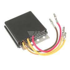 black voltage regulator rectifiers for polaris motorcycle atv