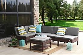 Amazon Furniture Sofas by Amazon Com Baner Garden K55 Br 6 Pieces Outdoor Furniture