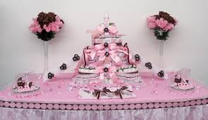 Baby Shower Decoration Ideas Baby Shower Centerpiece Ideas For Tables Pink Brown Half Sheet
