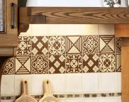 kitchen backsplash decals tile decals set of 18 tile stickers for kitchen backsplash