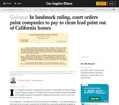 court orders paint companies to pay for lead why it may never