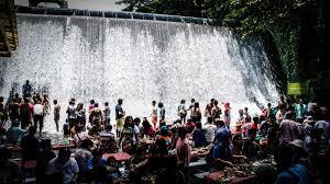 Villa Escudero Waterfalls Restaurant Waterfalls Restaurant In The Philippines An Lntense Dining Experience