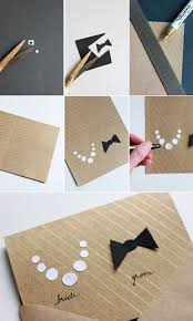 Invitation Cards Handmade - diy ideas how to make an invitation card pretty designs