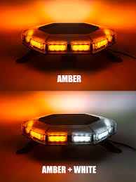 orange led light bar emergency led light bar 360 degree strobing led mini light bar