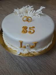 wedding anniversary cakes 35th wedding anniversary cake