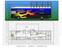 appealing bus conversion floor plans 29 on online design