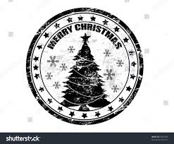 black grunge christmas stamp text merry stock vector 63826783