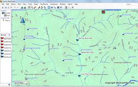 free maps gpsfiledepot free garmin gps maps section hikers backpacking