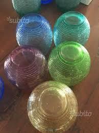 bicchieri ivv bicchieri ivv multicolor arredamento e casalinghi in vendita a