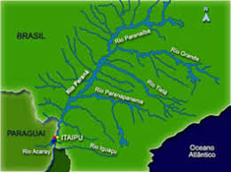 parana river map the official web site of suspense novelist terpening