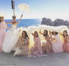 wedding sts fashion editor giovanna battaglia s lavish wedding daily
