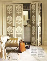 Used Closet Doors Take Your Closet Doors From Blah To Wow The Wall Paper Used In