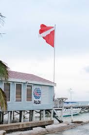 Padi Flag Padi Diving In Belize Entouriste