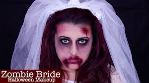 zombie bride halloween makeup laura ann youtube