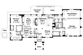 mediterranean villa house plans