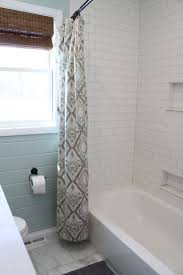 Gray And White Bathroom Ideas by Best 25 White Subway Tile Shower Ideas On Pinterest White