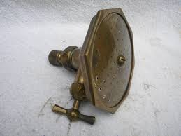 Antique Brass Bathroom Fixtures by Very Heavy Vintage Antique 1920s Or So Solid Brass Bathroom Shower