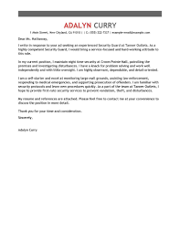 ideas of cover letter examples for security supervisor in free
