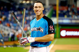 Yankees Aaron Judge Risking Historic Season With Home Run Derby - future zahir and sienna with russell at yankees training c 2 26