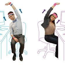 Neck Exercises At Desk Stretches To Do At Work Every Day Chair Yoga Exercises And Yoga