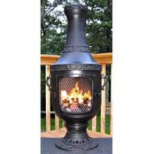 Blue Rooster Chiminea Review Outdoor Fireplaces U0026 Chimineas On Sale Sears