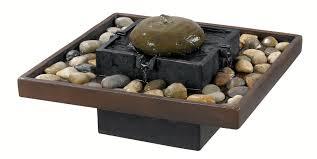 Tabletop Rock Garden Bordsfontän Inredningsdrömmar Pinterest