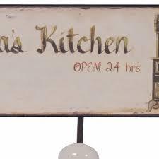 K Heneinrichtung G Stig Küchen Wandhaken Metall Grandma U0027s Kitchen Haken 3er Hakenleiste