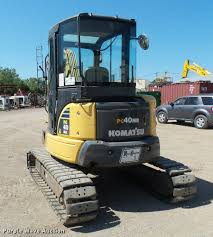 2005 komatsu pc40mr 2 mini excavator item k1850 sold au