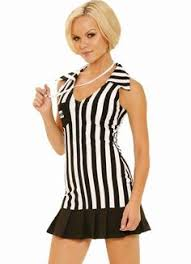 Referee Halloween Costumes Women Halftime Hottie Womens Size Costume 346852 Womens