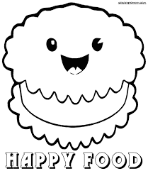 cute food coloring pages coloring pages to download and print