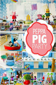 Peppa Pig Room Decor A Boy U0027s Peppa Pig Inspired 3rd Birthday Party Spaceships And