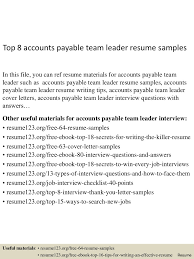 accounts payable resume exle accounts payable resume pdf exle australia vesochieuxo