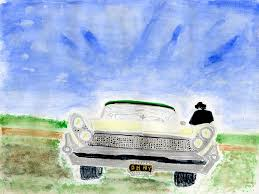 Classic Paint Neil Young Begins A New Career Painting Watercolors Of Classic