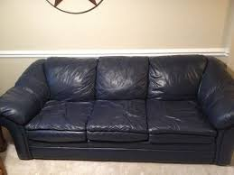 Blue Leather Sectional Sofa Sofa Navy Blue Leather Sofa Rueckspiegel Org
