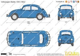 blue volkswagen beetle vintage volkswagen beetle blueprint database pinterest beetles