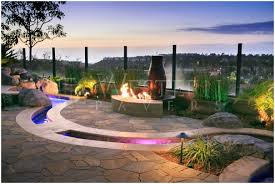 backyard with fire pit landscaping ideas pavers backyard photo with amusing diy backyard paver patio