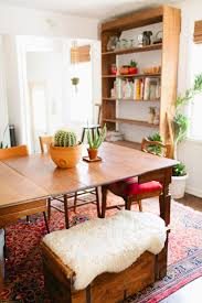 Southwest Dining Room Furniture How To Fit A Dining Room Into Small Spaces Apartment Therapy