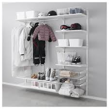 algot wall upright shelves rod ikea utility pinterest